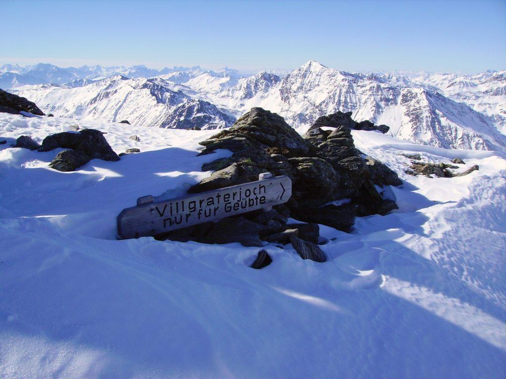 Skitour Regenstein   Außervillgraten   Villgratental